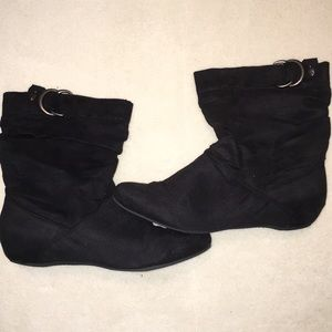 Bamboo Boots with Buckle